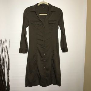 Theory Megan buttoned down dress